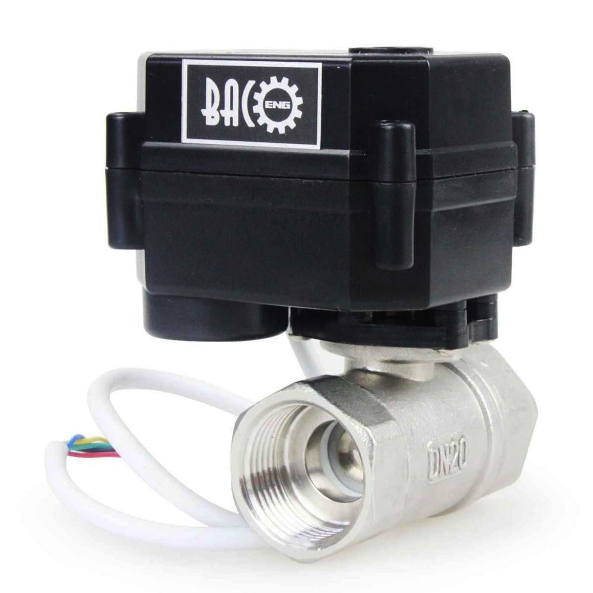 Baco electric ball valve