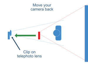 move your camera back for zoom meetings